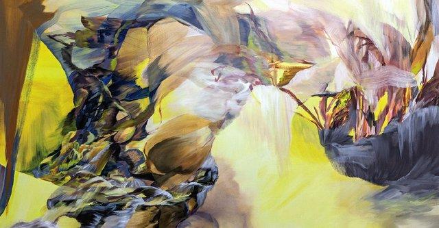 """Melanie Authier, """"L.A. Flex (detail),""""  2015"""