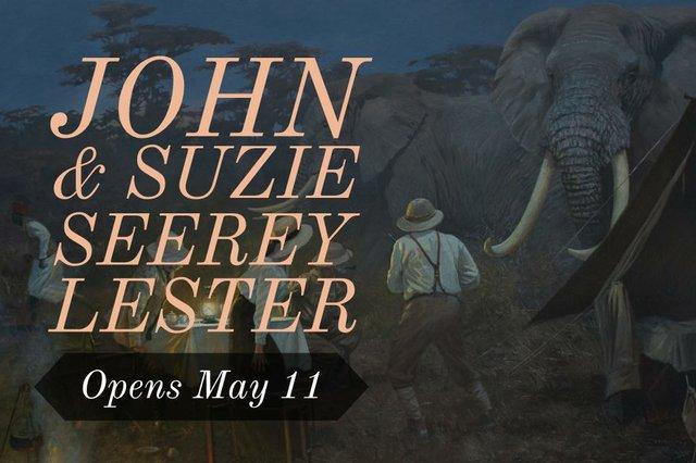 John & Suzie Seerey-Lester Invitation