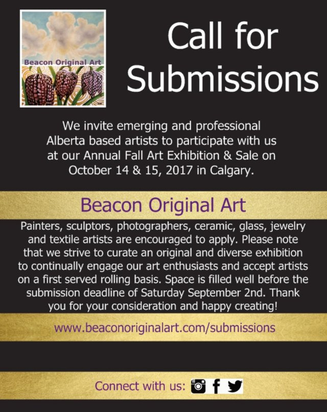 Beacon Original Art Call for Submissions
