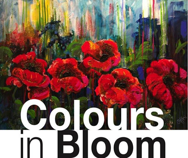 """Cecile Albi, """"Colours in Bloom,"""" Invitation"""