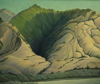 "William Percy Weston, ""Evening - Keremeos, B.C.,"" 1960"