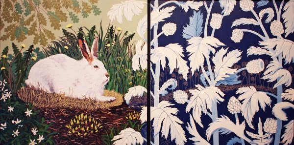 """Barbara Hirst, """"A March Hare,"""""""