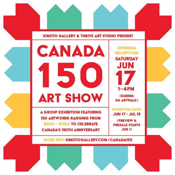 Canada 150 Exhibit at Kimoto Gallery