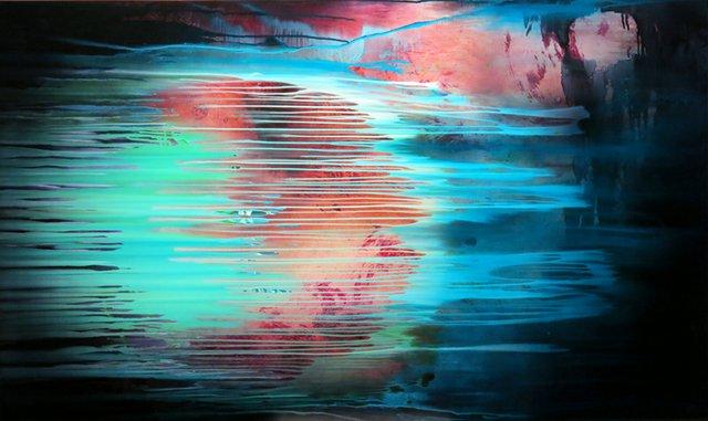 "Michael Fitzsimmons, ""Blue Moon,"" 2017"