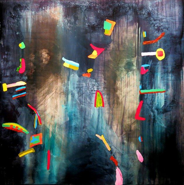 """Michael Fitzsimmons, """"Forest Spirits,"""" 2017"""