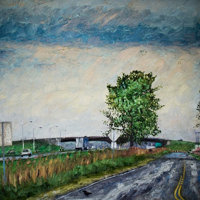 """Nicole Bauberger, """"Get There From Here #49 (east of Montreal),"""" 2015"""