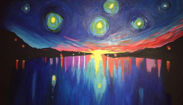 "Meagan Brown, ""Abstractivity,"" Invite"