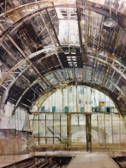 "Sarinah Haba, ""Station Window,"" 2017"