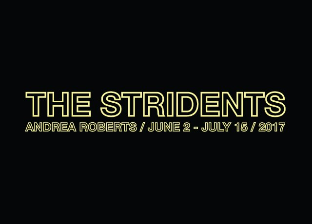 "Andrea Roberts, "" The Stridents,"" Invitation"