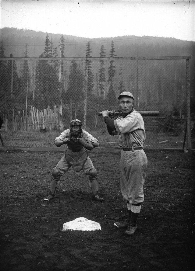 "Hayashi Kitamura Matsubuchi Photo Studio, ""Baseball Players,"" circa1920"