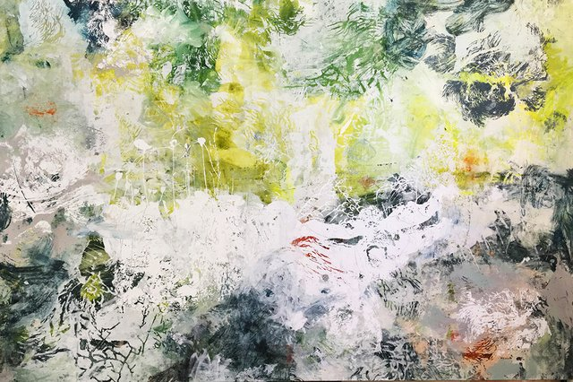 """Amélie Ducommun, """"Sensitive Water Mapping # 161,"""" 2017"""