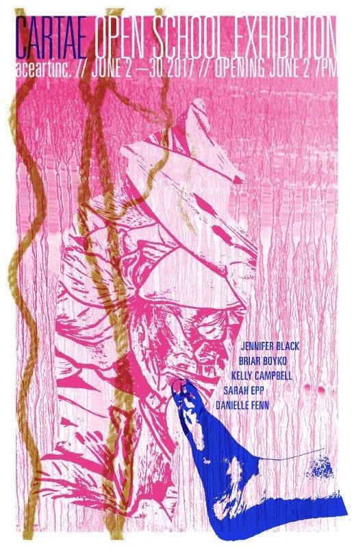 Cartae Open School Year End Exhibition, Invitation