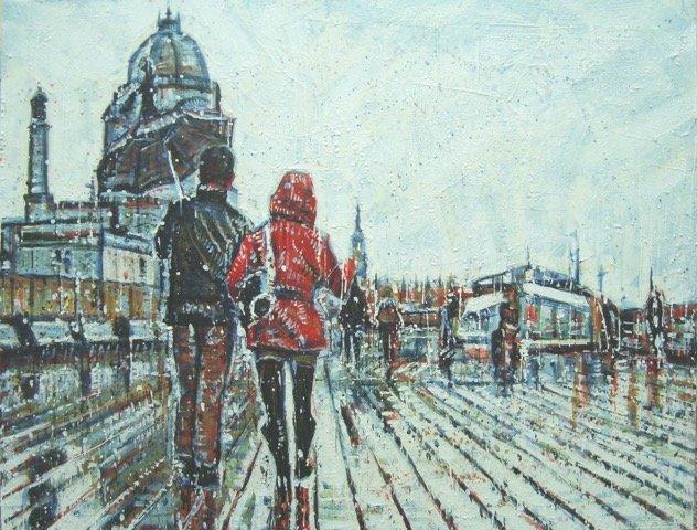 "Sylvain Roberge, ""Promenade Jacques-Cartier,"" nd"