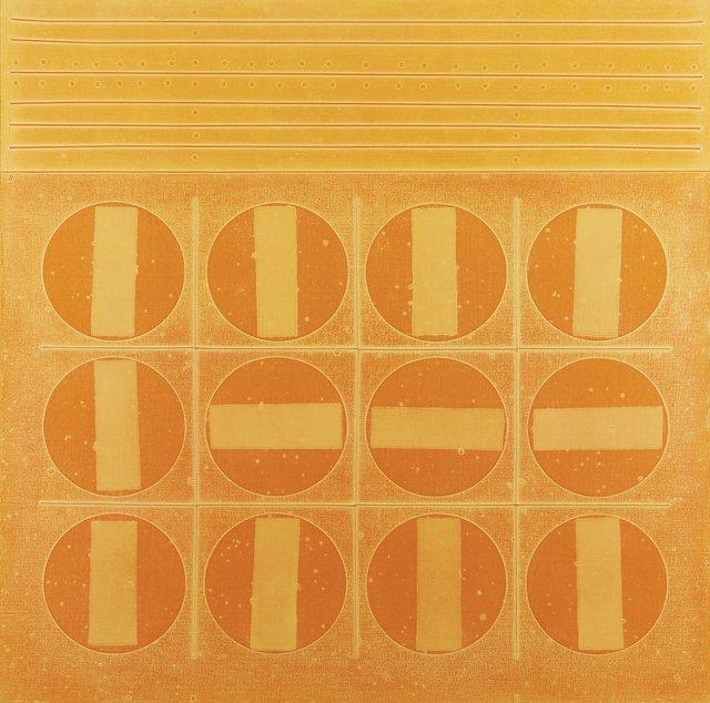 """Jacques de Tonnancour, """"Sorbet aux douze oranges,"""" 1969"""