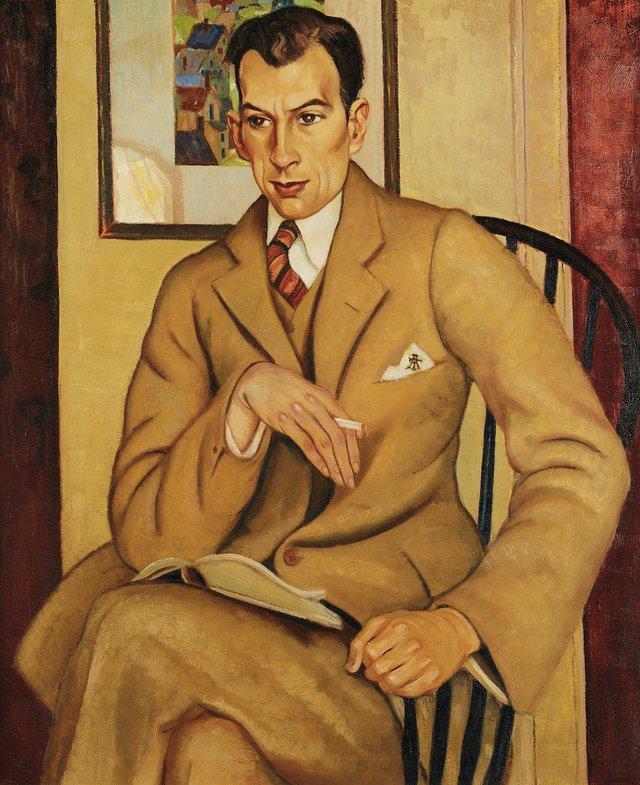 "Randolph Stanley Hewton, ""Portrait of Thomas Archer, Esq."" n.d."