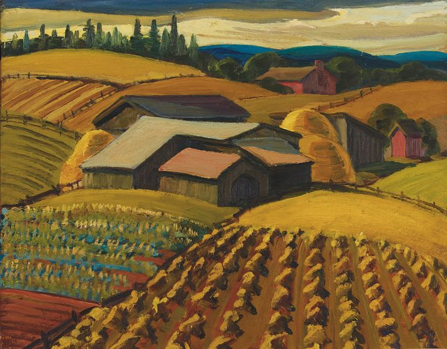 "Yvonne McKague Housser, ""Harvest Time,"" n.d."