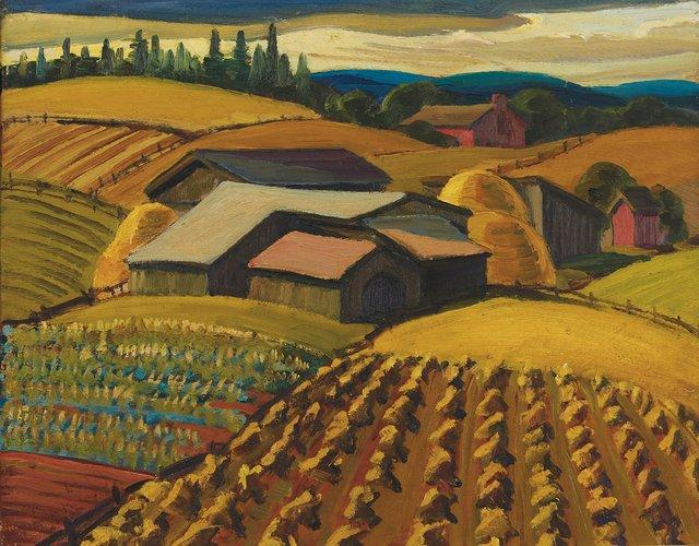 "Yvonne McKague Housser, ""Harvest Time,"" n.d."