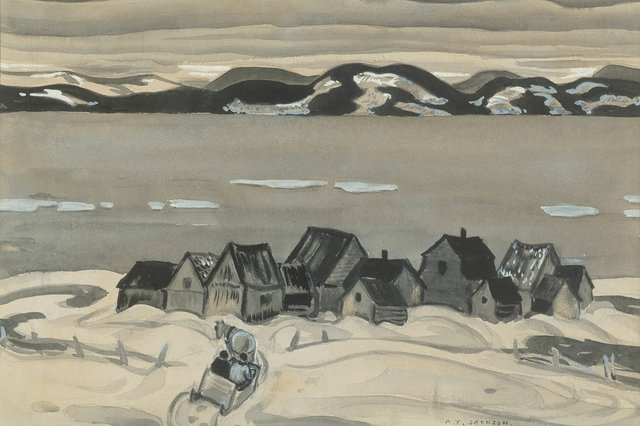 "Alexander Young Jackson, ""Gulf of St. Lawrence,"" circa 1942"