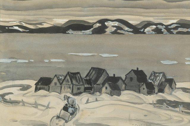 "Alexander Young Jackson, ""Gulf of St. Lawrence,"" circa 1942"