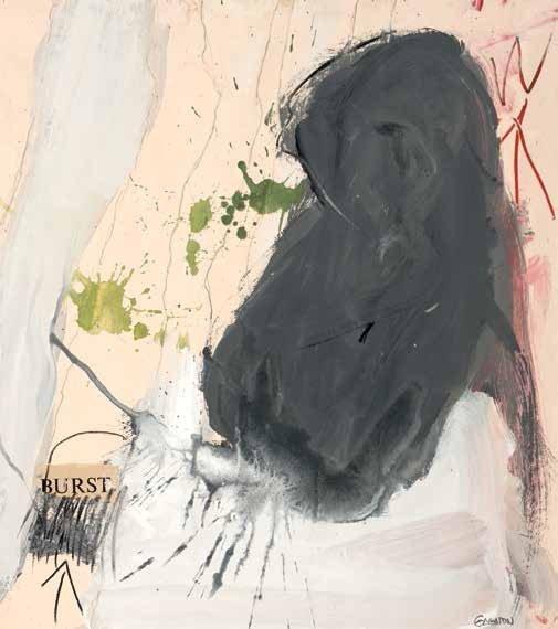 """Charles Gagnon, """"Burst,"""" 1961"""