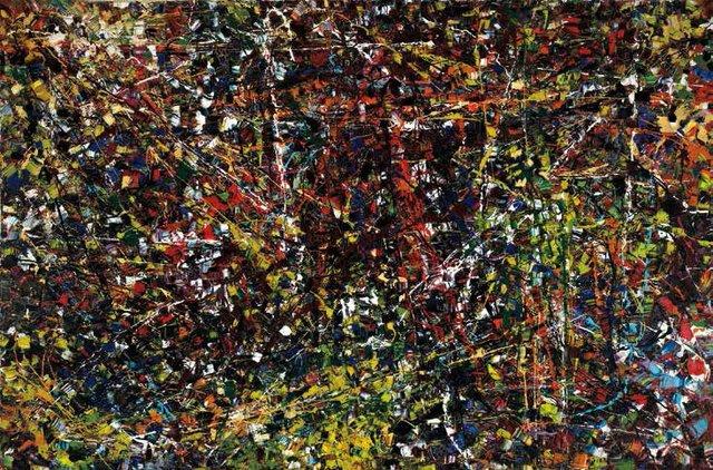 "Jean Paul Riopelle, ""Vent du nord,"" 1952/53"