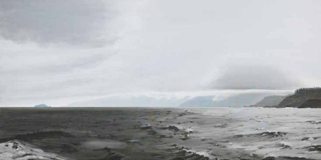 "Takao Tanabe, ""Q.C. Is. 6/95 Marble Island,"" 1995"