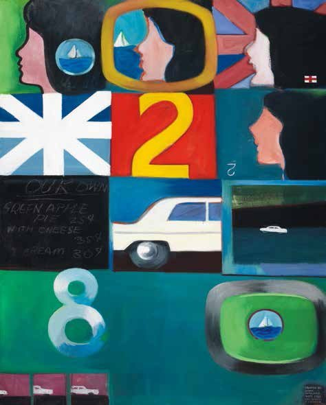 """Joyce Wieland, """"The Battery,"""" 1963"""