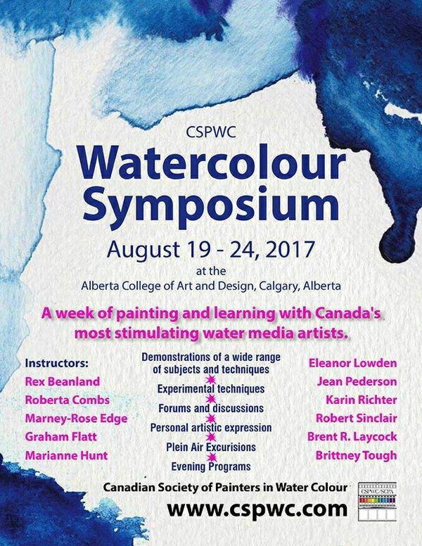 CSPWC Watercolour Symposium 2017