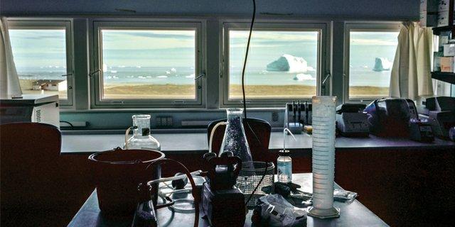 "Tara Nicholson, ""ArcticStation Lab, Greenland (detail),"" 2015"
