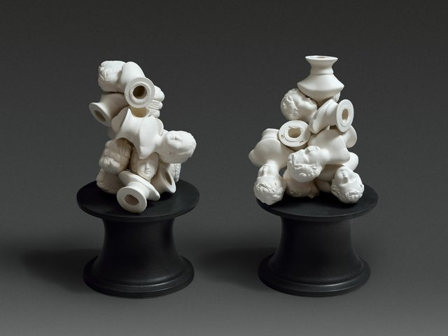 """Laurent Craste, """"Petits charniers décoratifs,"""" 2016"""