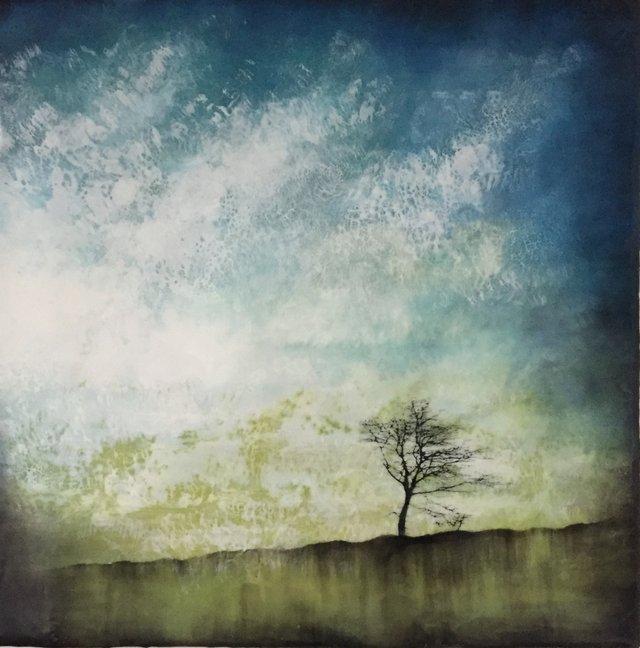 "Alanna Sparanese,  ""On a Windy Day,"" nd"