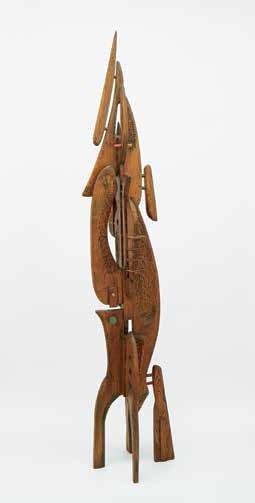"""Jack Beder, """"Tree Image (Sculpture #43),"""" 1966"""
