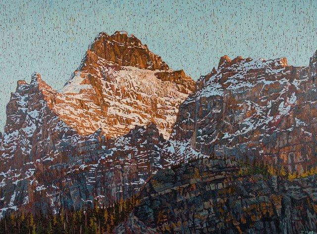 """Joel Mara, """"Mount Biddle,"""" nd"""