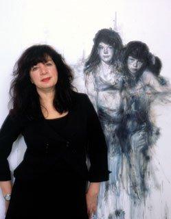 """Grossmann with """"Blue Girls"""""""