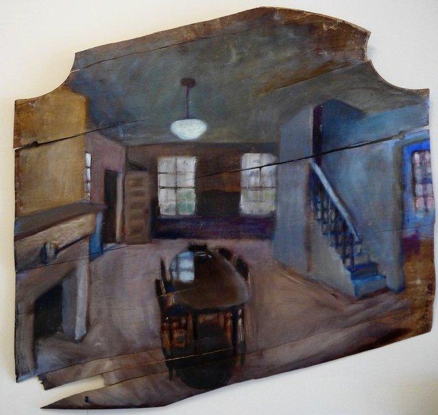 "Stefanie Denz, ""Ruckle Farm Interior,"" 2011"