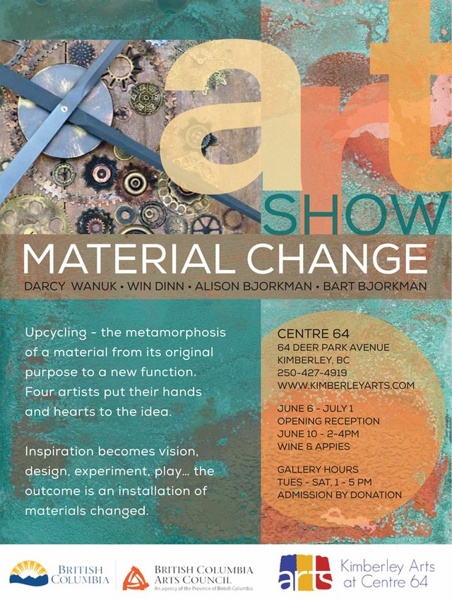 Material Change Poster
