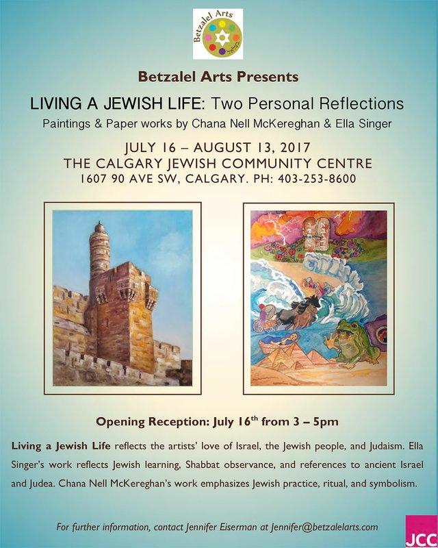Living a Jewish Life Poster
