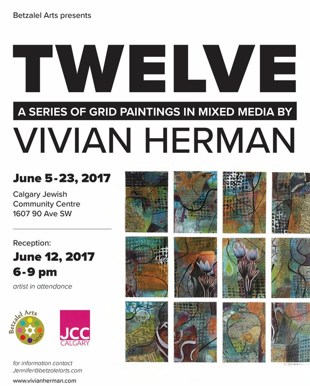 """Vivian Herman, """"Twelve,"""" Poster"""