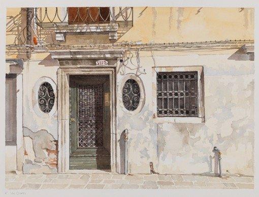 "Kristin Van Ginkel, ""Numero della Porta 2175,"" nd"