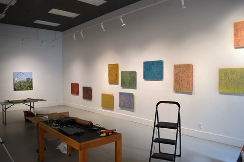 "Rodney Konopaki and Rhonda Neufeld's collaborative exhibition, ""52°N 106°W - Measured and Marked,"" 2017"
