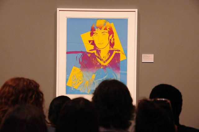 "Andy Warhol, ""Wayne Gratzky 99,"" 1984"