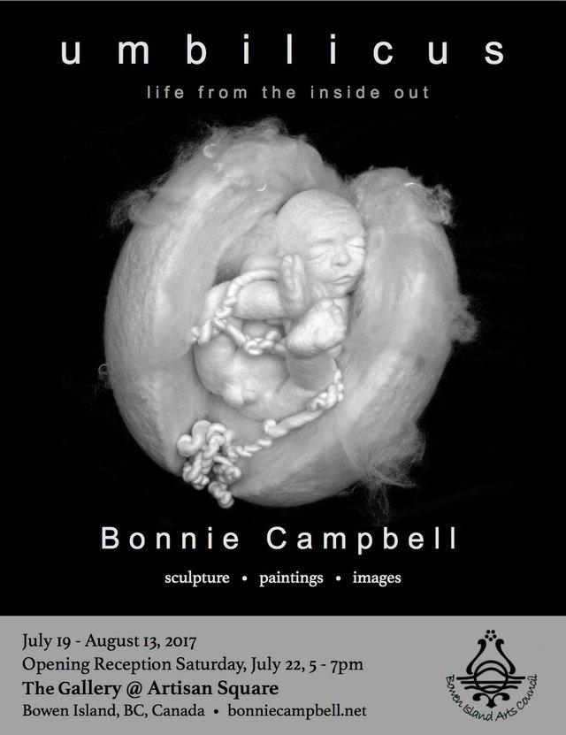 "Bonnie Campbell, ""Umbilicus, Poster,"""