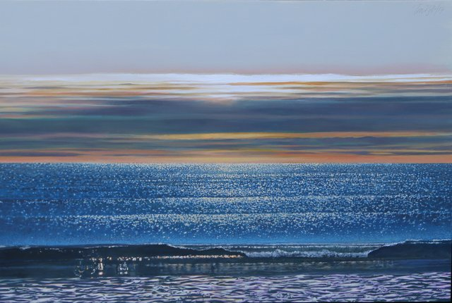 """Ron Bolt, """"Sparkle at Lawrencetown,"""" 2017"""