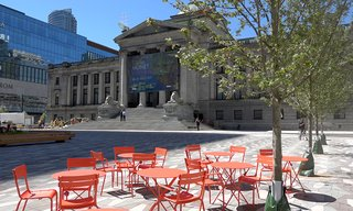 Vancouver Art Gallery North Plaza June 22, 2017