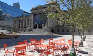 Vancouver Art Gallery North Plaza June 22, 2017