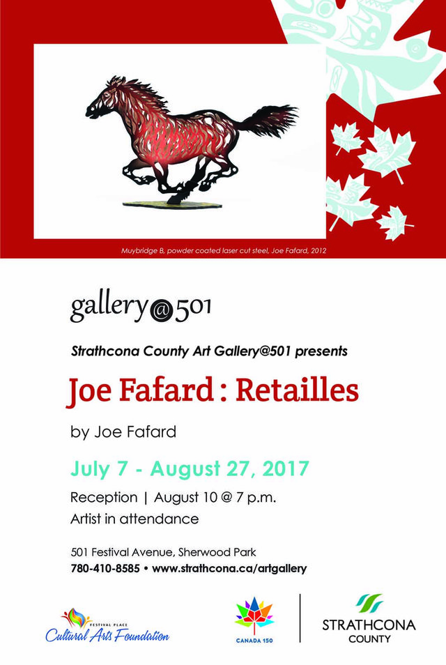 Joe Fafard Retailles-2017 Invitation
