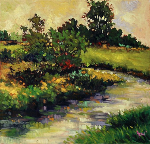 """Ann Willsie, """"Serpentine River,"""" nd"""
