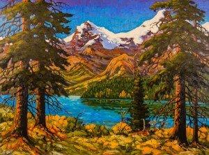 "Rod Charlesworth, "" Near Jasper,"" nd"