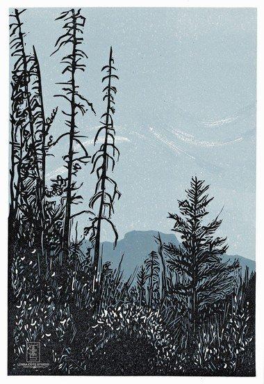 "Linda Cote, ""On Fenland Trail Banff,"" nd"