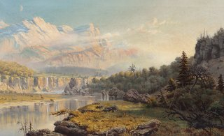 Marmaduke Matthews (1837-1913), [panoramic scene], (detail), n.d.